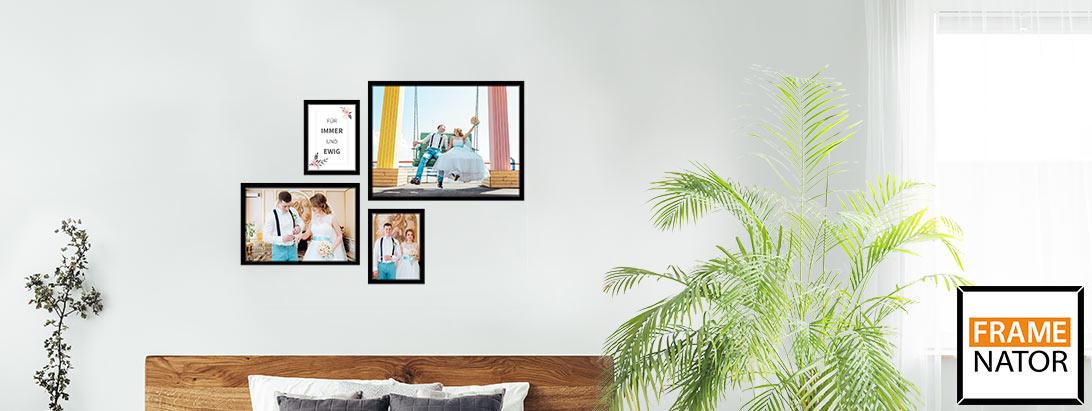 Bilderwand selbst gestalten mit fotos pixelnet - Bilderwand gestalten ...
