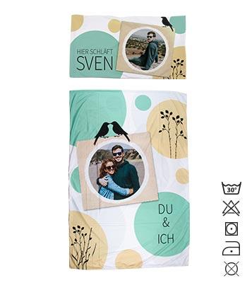 Foto Bettwäsche Individuell Gestaltet Pixelnet