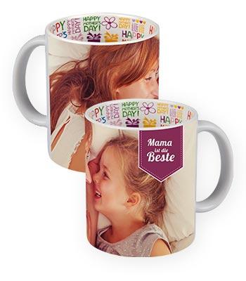 Fototasse Kaffeetasse mit Fotodruck Werbetasse